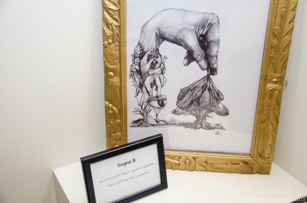 illustrazioni penna Danilo Boniello mostra arte