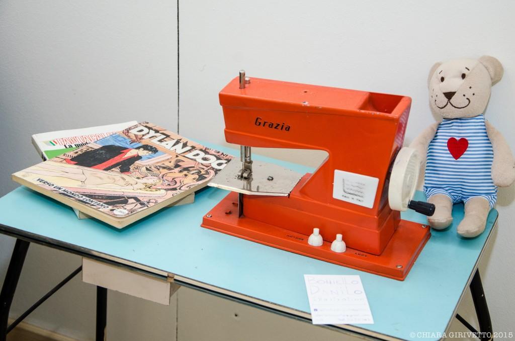 macchina da cucire Dylan Dog fumetti uomo