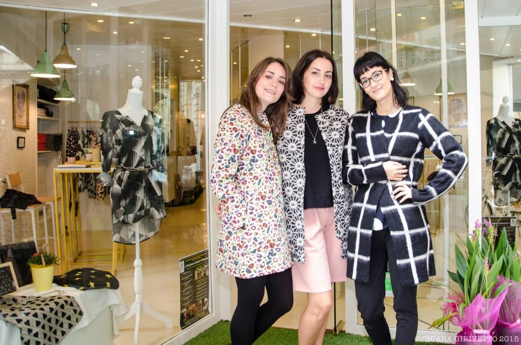 Ylenia Micaela Chiara Moi.to Torino Fashion Bloggers soprabiti stampe