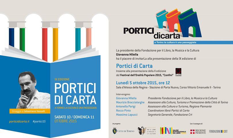 Portici di carta Torino 2015