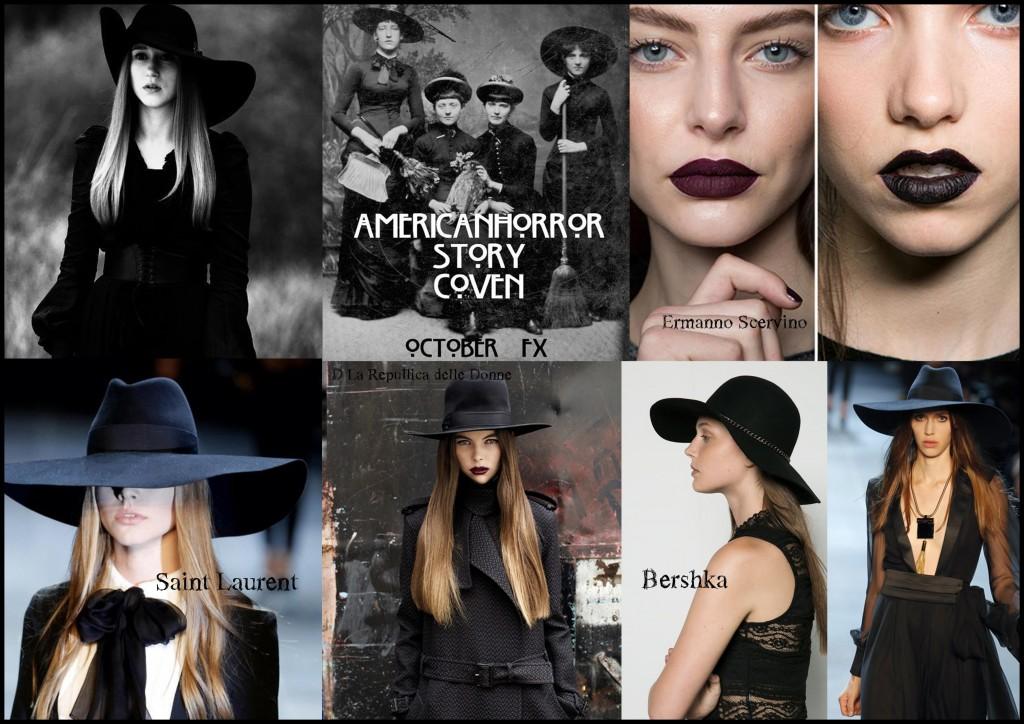 cappello tesa larga halloween mood tfb