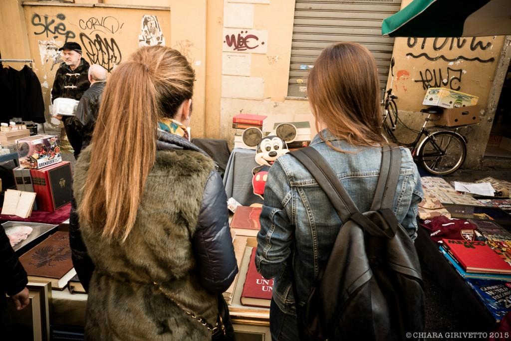 Torino Fashion Bloggers di spalle al Balon