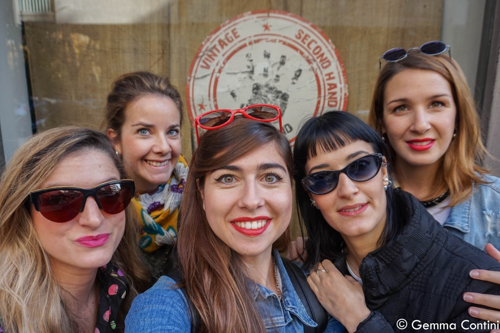 Selfie delle Torino Fashion Bloggers da Kilos