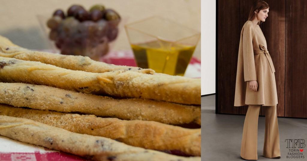 grissini torinesi stirati, ricette piemonte, cucina tradizionale piemontese, sfilate, max mara