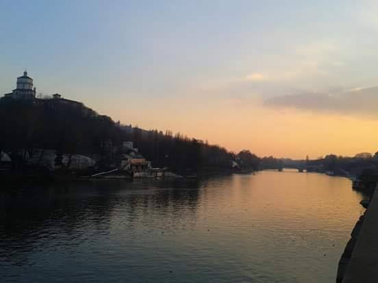 rive del po, tramontio, piazza gran madre, torino