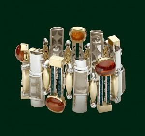 Enrico Cirio bracciale gioiello gemme e oro