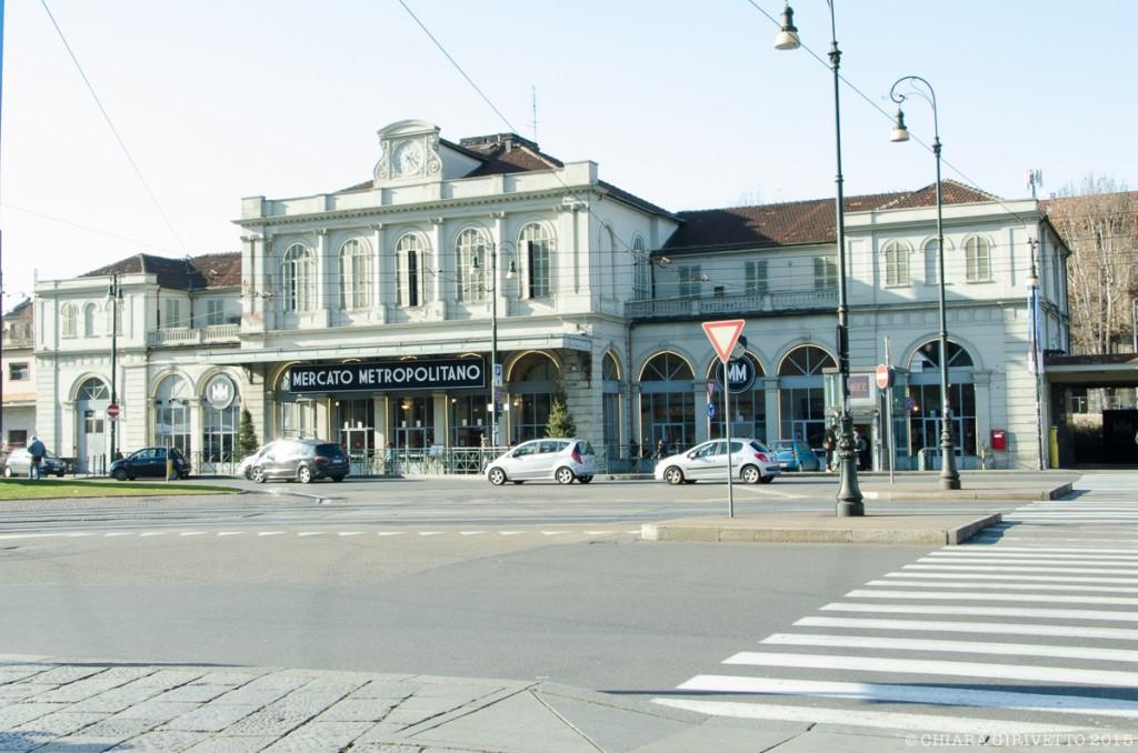 piazza XVIII Dicembre ex stazione di Porta Susa Mercato Metropolitano Torino