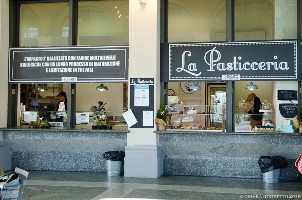 Mercato Metropolitano Torino pasticceria cibo italiano