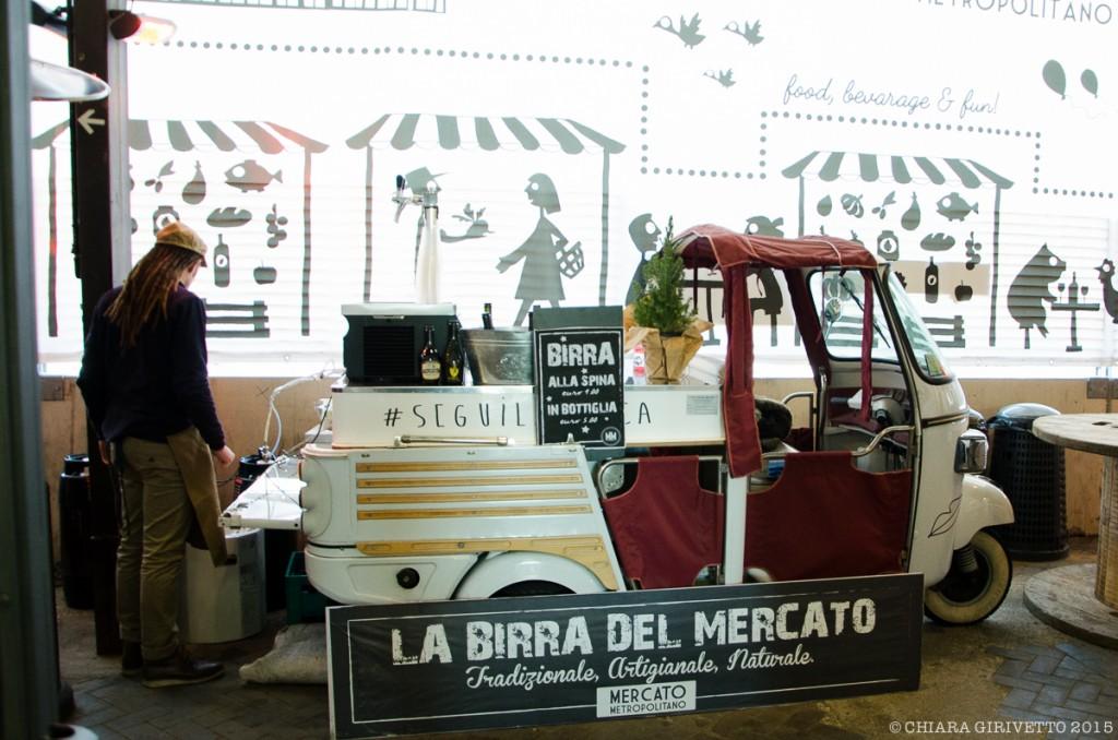Mercato Metropolitano Torino birra artigianale ape