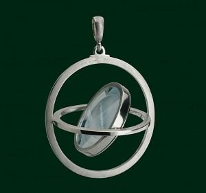 Enrico Cirio giroscopio ciondolo gioiello