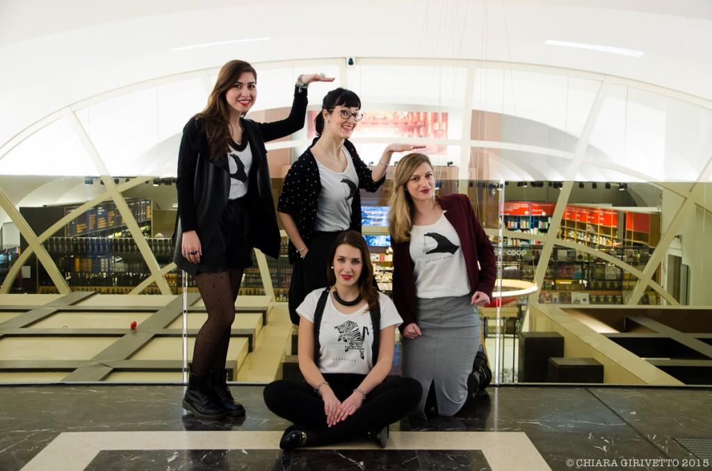 elementurin, outfits torinofashionbloggers, galleria san federico torino
