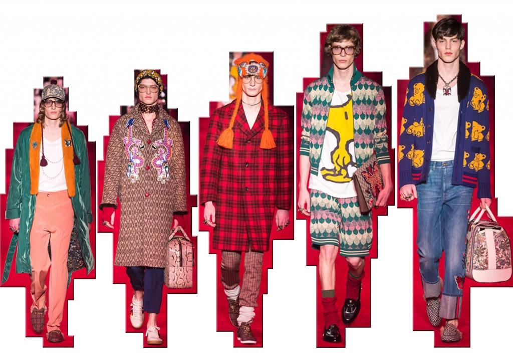 Gucci moda uomo f/w 2016-17