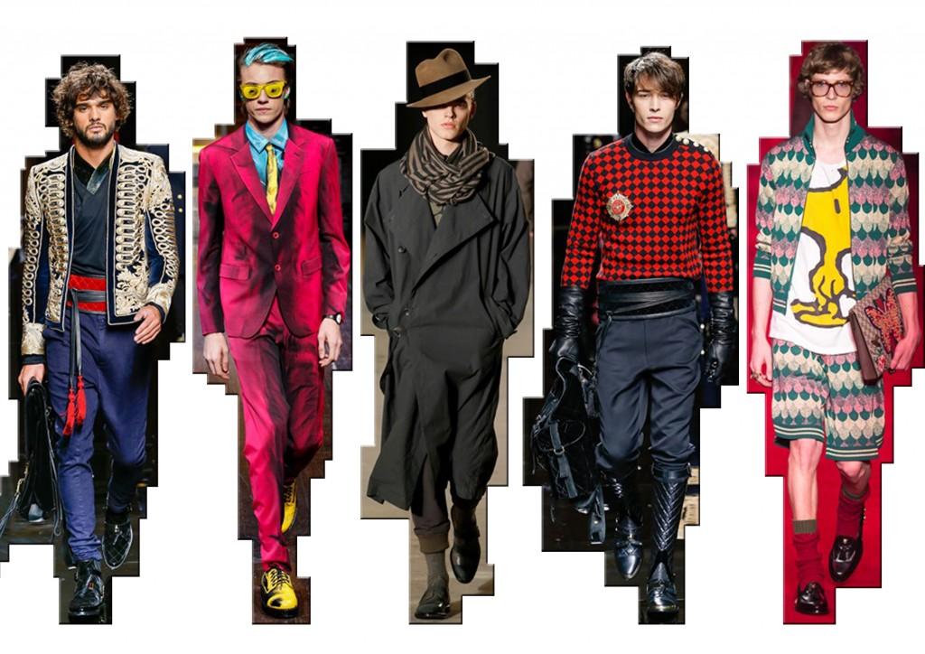 Moda uomo f/w 2016-17