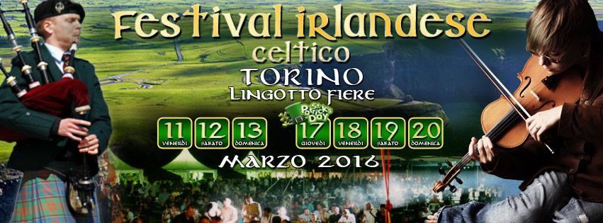 Festival Irlandese Torino Lingotto Fiere eventi