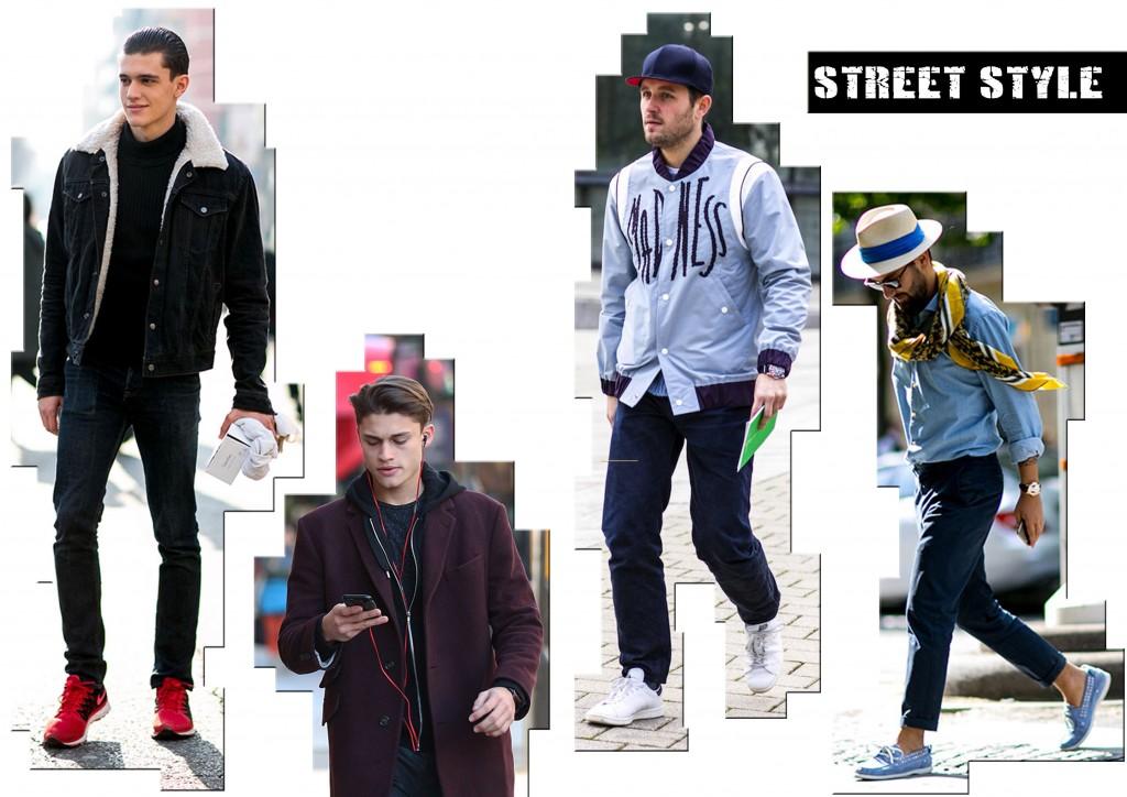 uomo tendenza moda street style