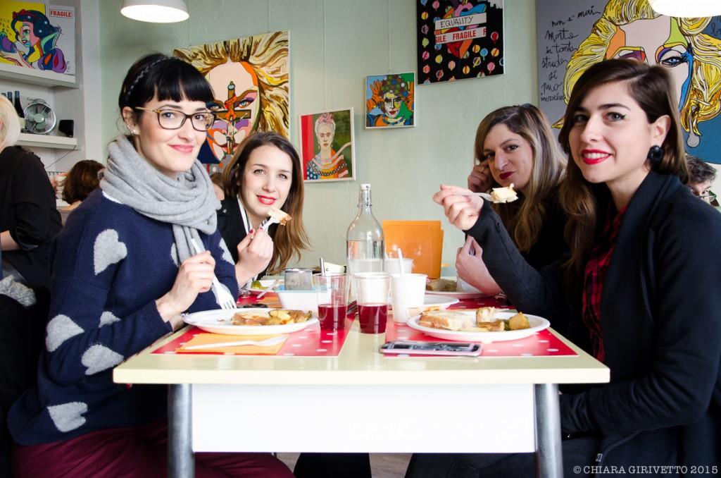 Cenerentola Prêt à Manger Torino Fashion Bloggers Gemma Chiara Elisa Eleonora brunch