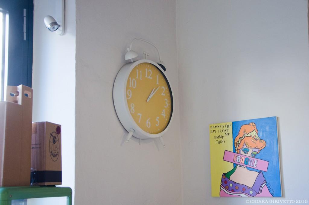 Cenerentola Prêt à Manger orologio quadro
