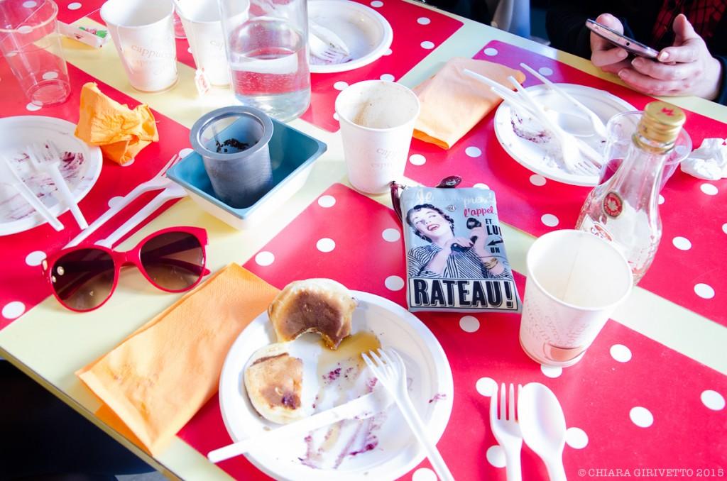 Cenerentola Prêt à Manger tavola Torino Fashion Bloggers colore pois brunch