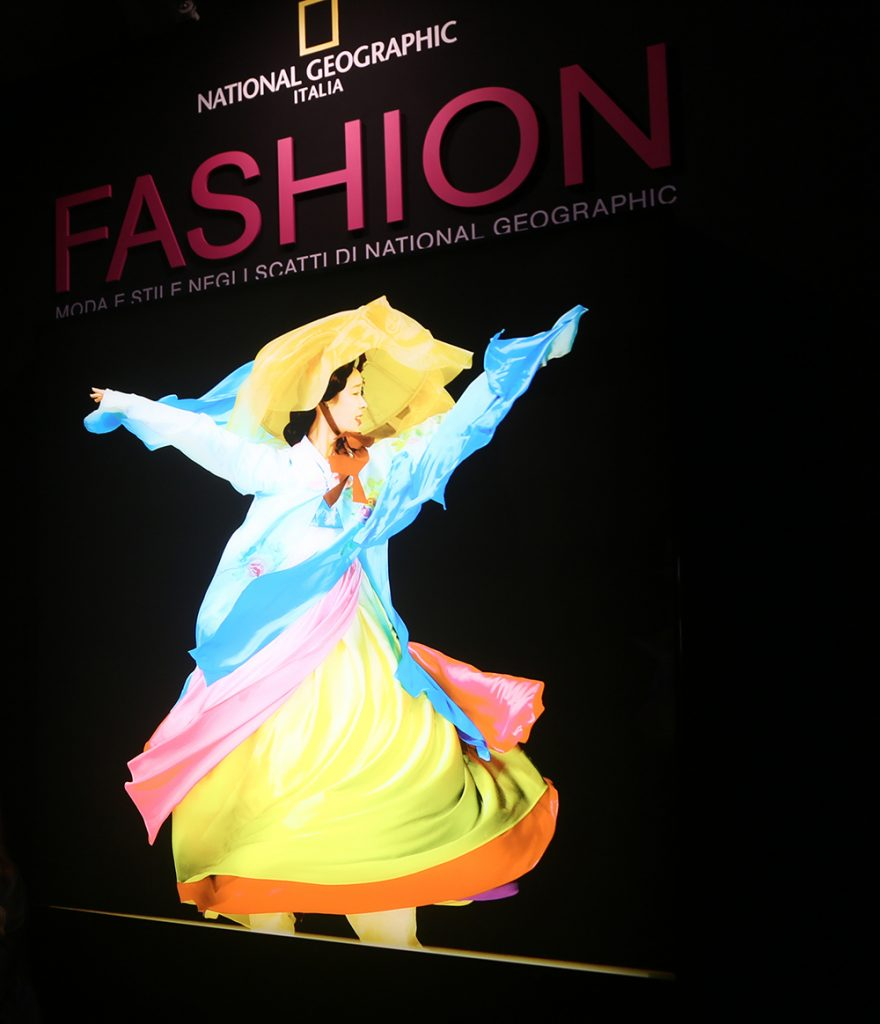 Fashion mostra fotografica National Geographic