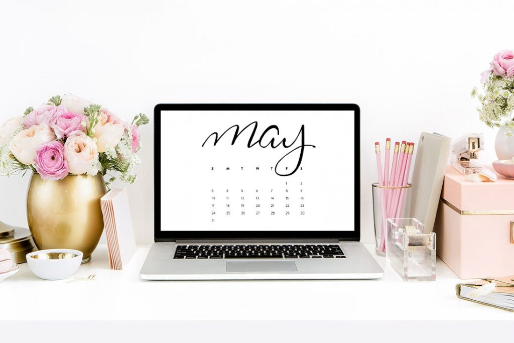 may calendar desktop