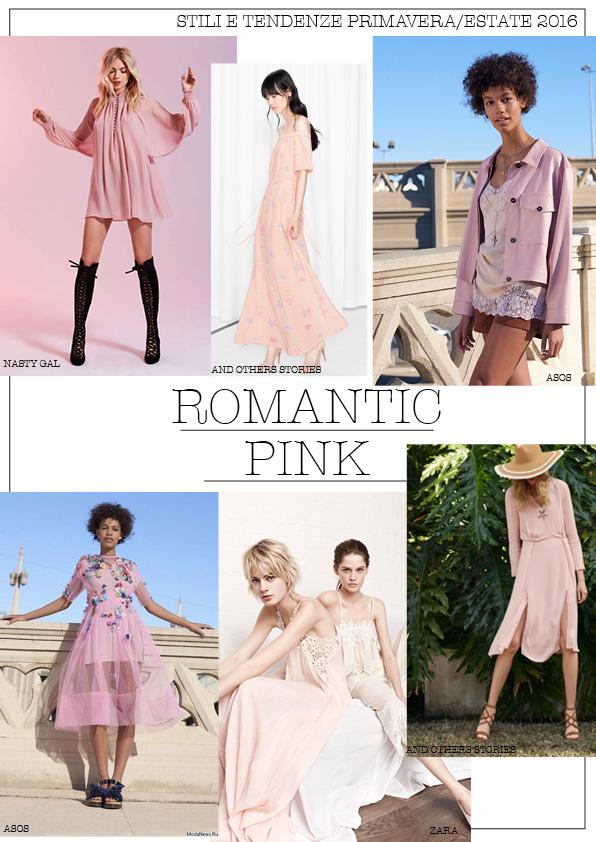 romantic pink moodboard ss 2016