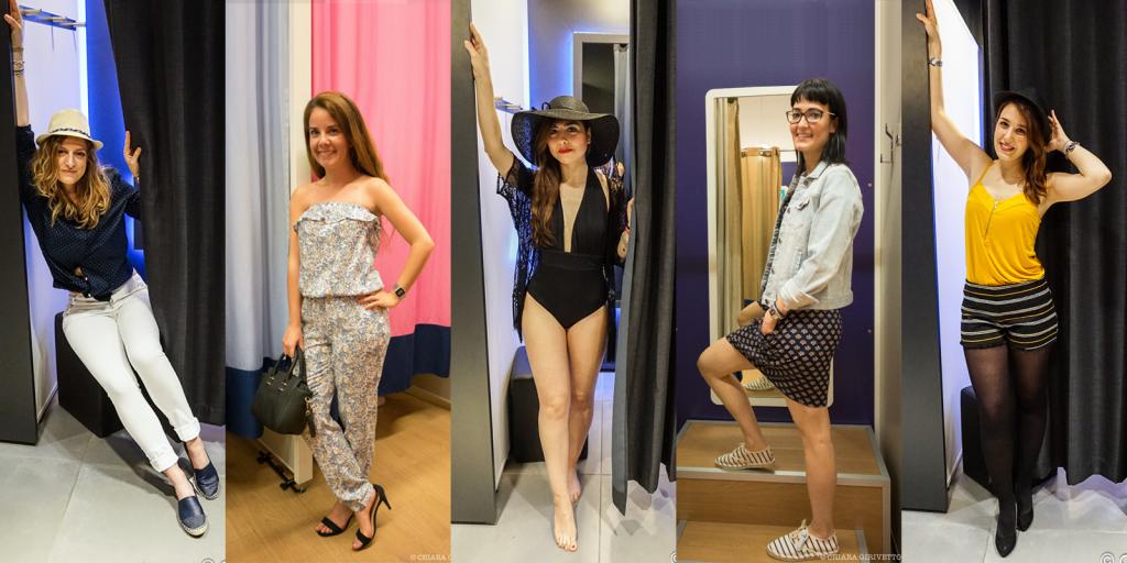 Torino Fashion Bloggers Kiabi Eleonora Emily Gemma Chiara Elisa camerini