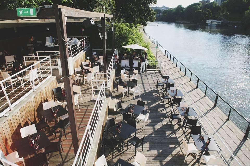 Kogin's club discoteca ristorante fiume Po terrazza disaronno