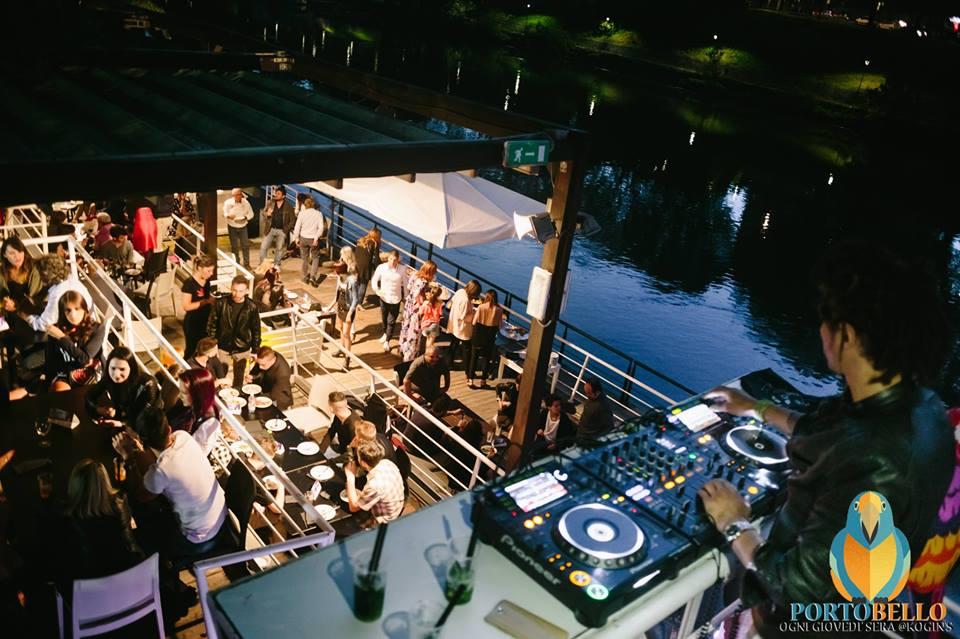 Kogin's club discoteca ristorante fiume Po terrazza disaronno musica dj