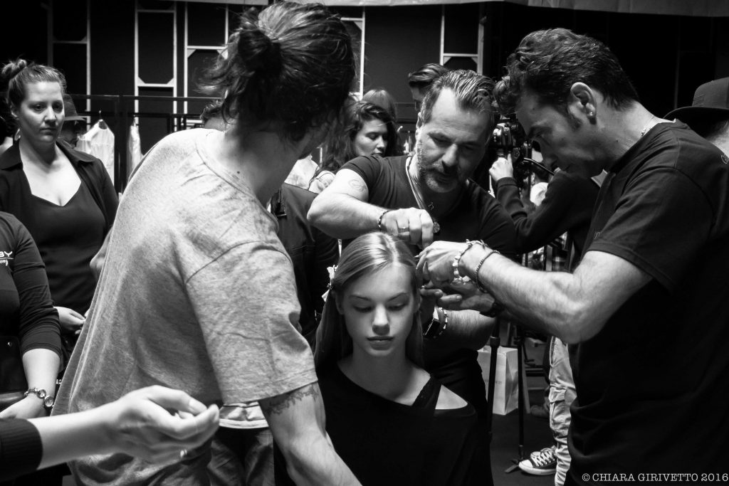 l'oreal backstage