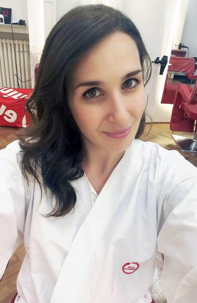 Aldo Coppola by Angela Trovato uala parrucchieri Torino hair beauty shades colore risultato selfie