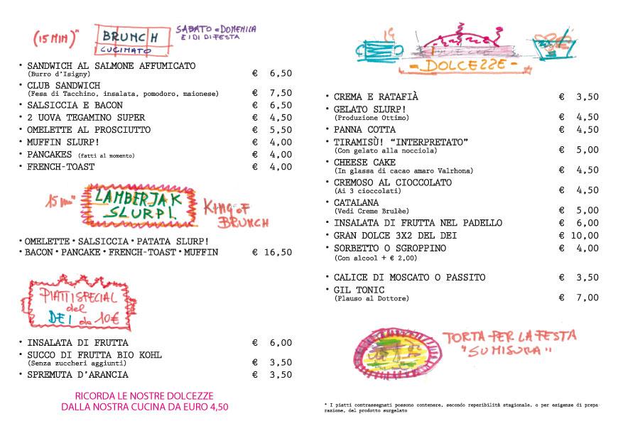 Slurp! Torino menù brunch salato dolce locale