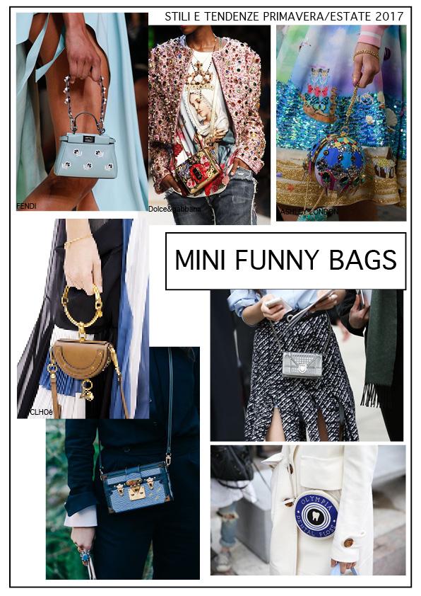 mini funny bags piccole borse