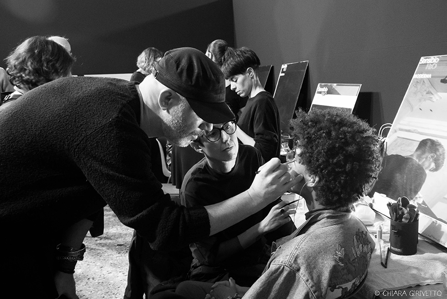 Clinique Cristiano Burani post punky make up milano fashion week Torino Fashion Bloggers Jabe