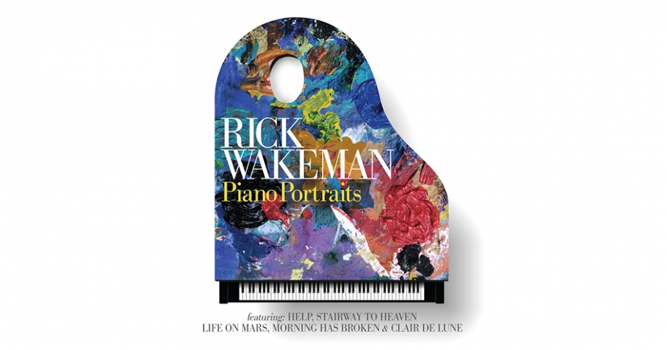 Rick Wakeman concerto pianoforte tastierista Piano Portraits