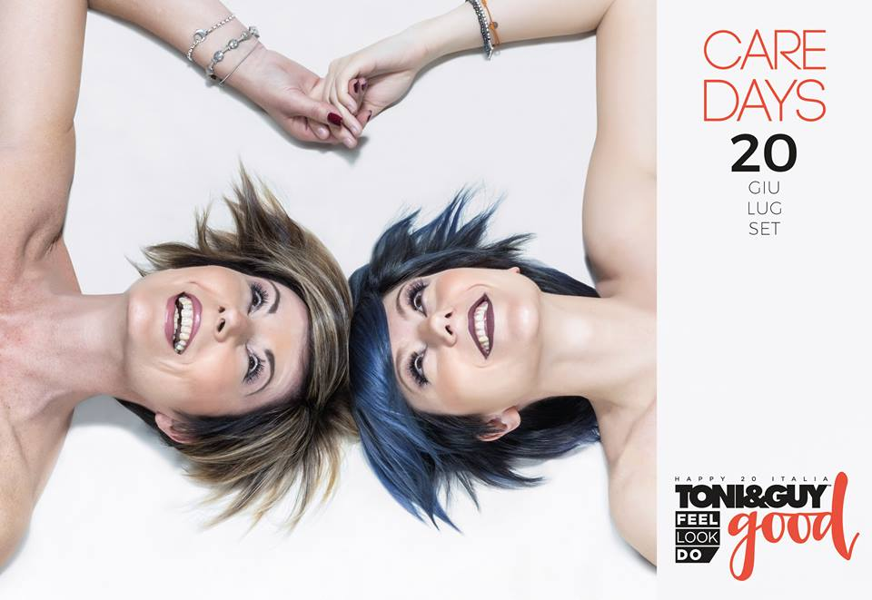 Care Days Toni&Guy hairlook bellezza solidale Torino evento